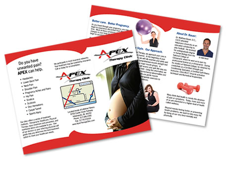 Trifold Brochure Graphic Design Indianapolis