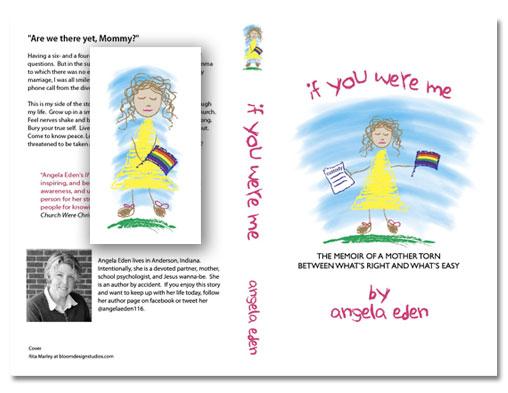 Book Cover, Book Spine, Graphic Design Indianapolis