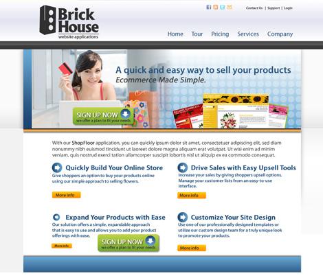 Brick House Website Applications Website Design