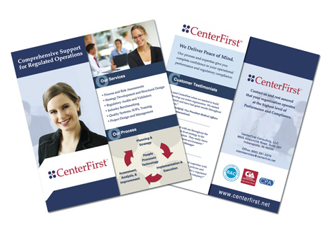 Marketing Trifold Brochure Design Indianapolis