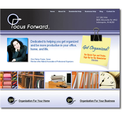 Focus Forward Web Site Design