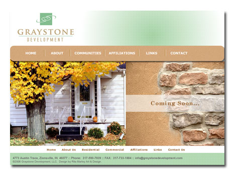 Graystone Development Website Design