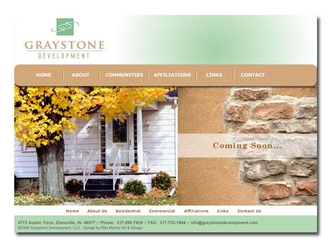 Graystone Development Website Design