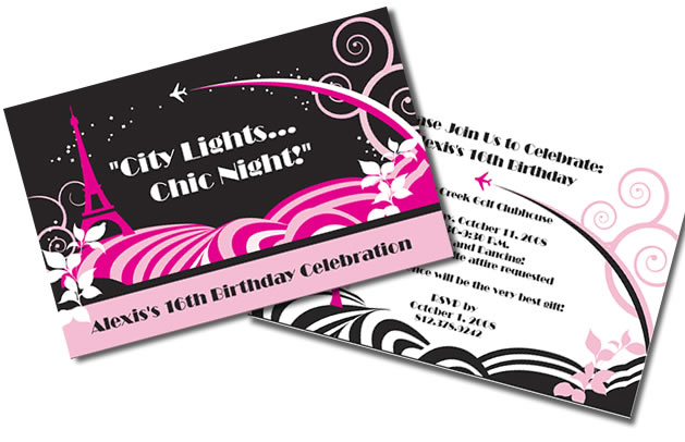 Unique Invitation Design Indianapolis