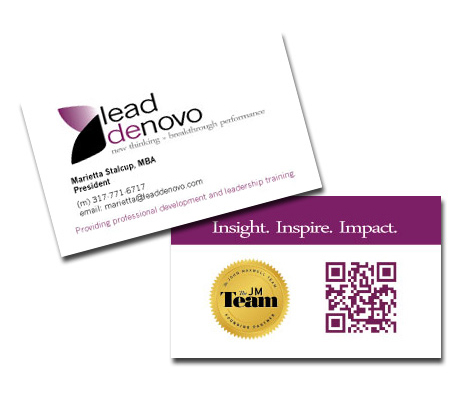 Business Card Design Indianapolis