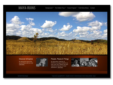 Maya Ruins WordPress Website Design and Development