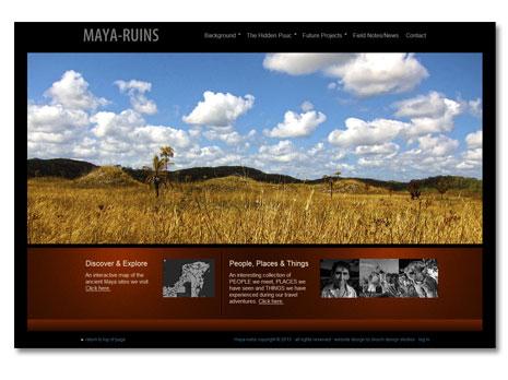 Maya Ruins WordPress Website Design and Development