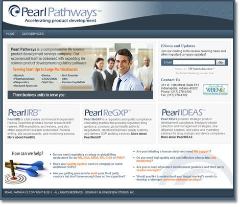 Pearl Pathways WordPress Website Design and Development