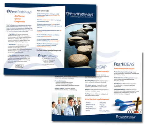 Trr-fold Brochure and Flyer Design Indianapolis
