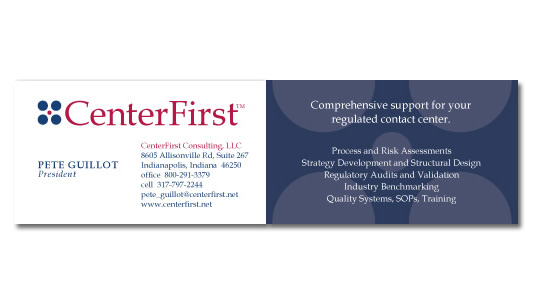 Business Card Design and Layout