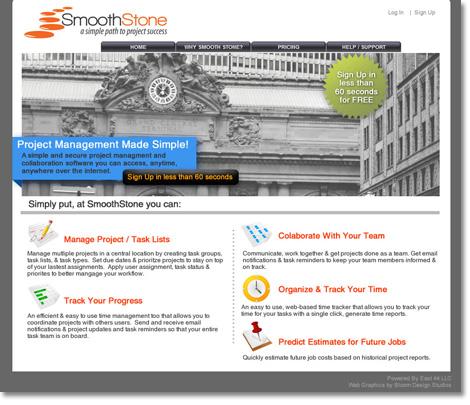 Smooth Stone Website Design