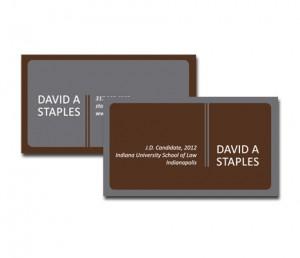 staples business card Website Design & Graphic Design