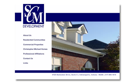 SCM Website Design