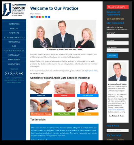 Indianapolis Website Design